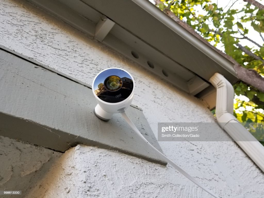 Nest Surveillance Camera : News Photo