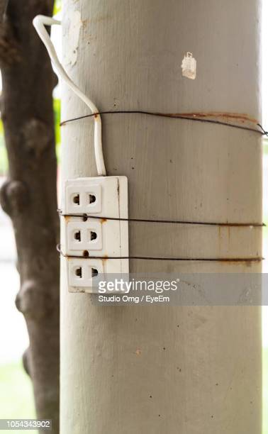 Close-Up Of Outlet