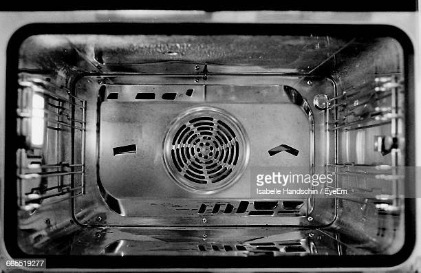 Close-Up Of Oven