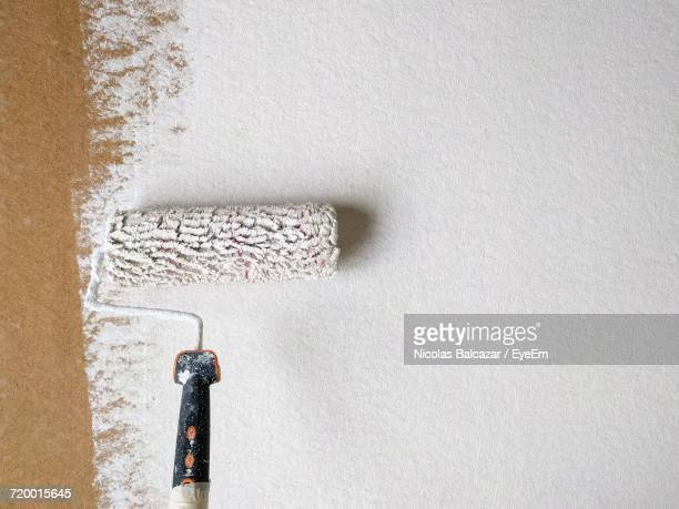 close-up of painted surface - whitewashed stock photos and pictures
