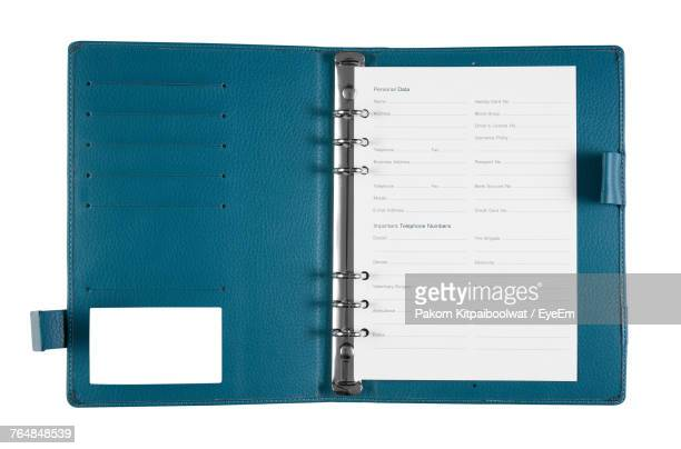 close-up of paper in ring binder - ring binder stock pictures, royalty-free photos & images