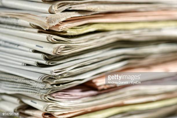 Close-Up Of Papers