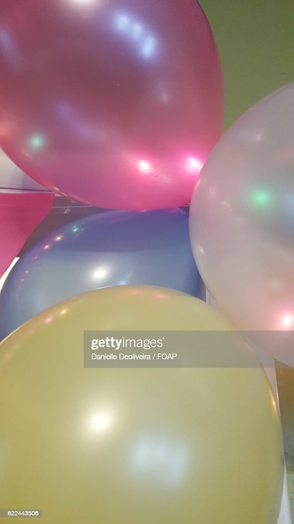Close-up of party balloons : Stock Photo