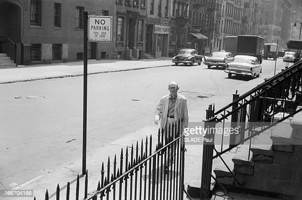 Close-Up Of Patricia Bosworth, Student Of Lee Strasberg Actor'S Studio In New York. En 1959, aux Etats Unis, à New York, Lee STRASBERG, le directeur...