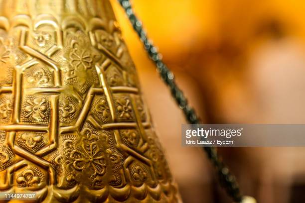 close-up of patterned bell - agadir stock pictures, royalty-free photos & images