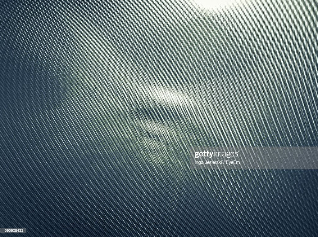 Close-Up Of Patterned Metallic Structure : Stock Photo