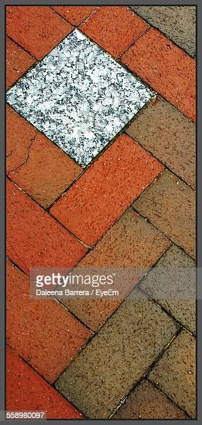 Close-Up Of Paving Stones