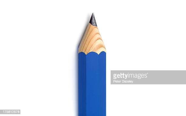 Close-up of pencil with copy space
