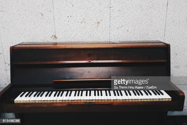 close-up of piano - grand piano stock photos and pictures