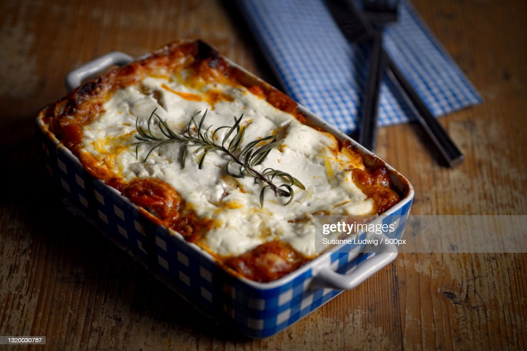 Close-up of pizza in container on table,Germany : Stock Photo
