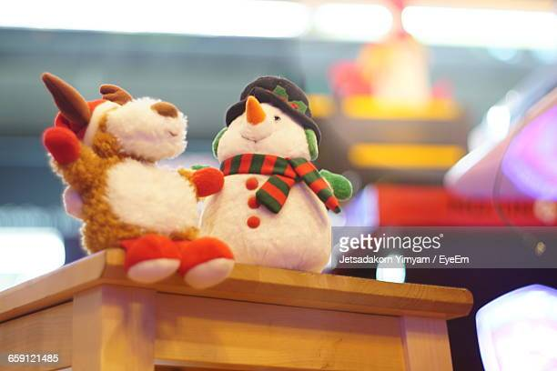Close-Up Of Plush Toy On Table
