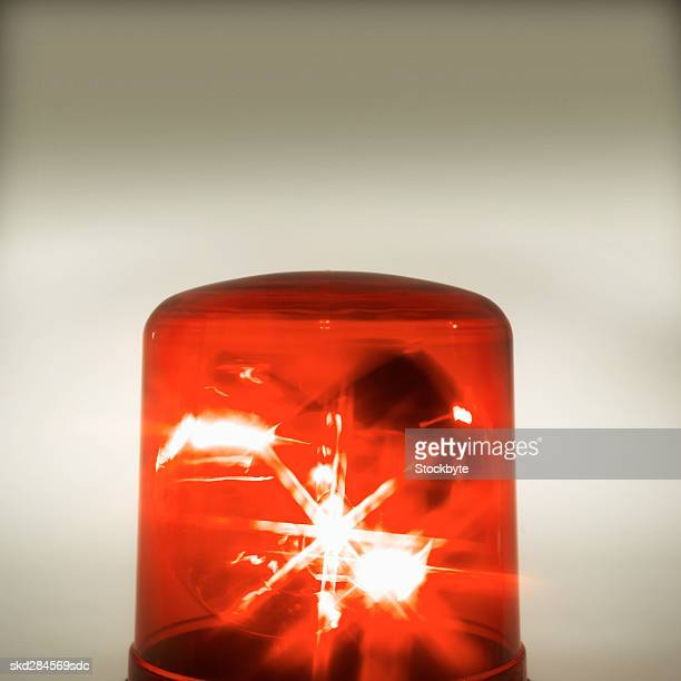 close-up of police siren - police lights stock pictures, royalty-free photos & images