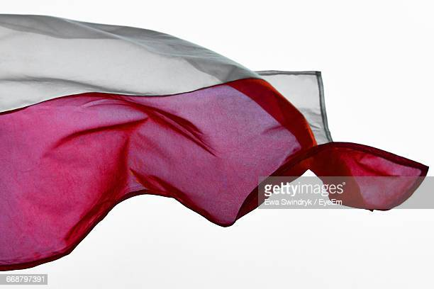 Close-Up Of Polish Flag