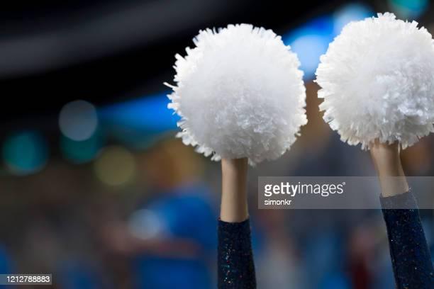 close-up of pom pom - pom pom stock pictures, royalty-free photos & images