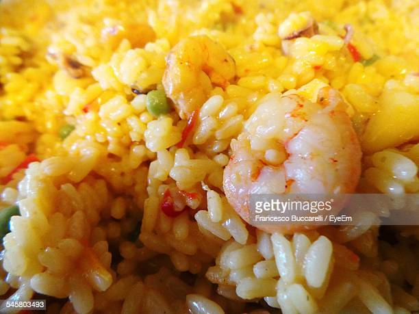 Close-Up Of Prawn Risotto