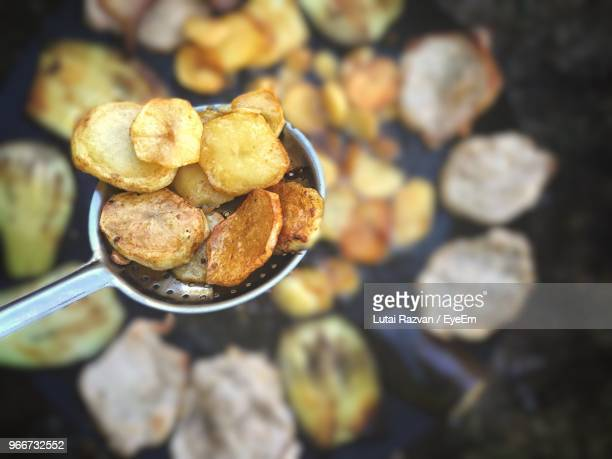 close-up of prepared potato - lutai razvan stock pictures, royalty-free photos & images
