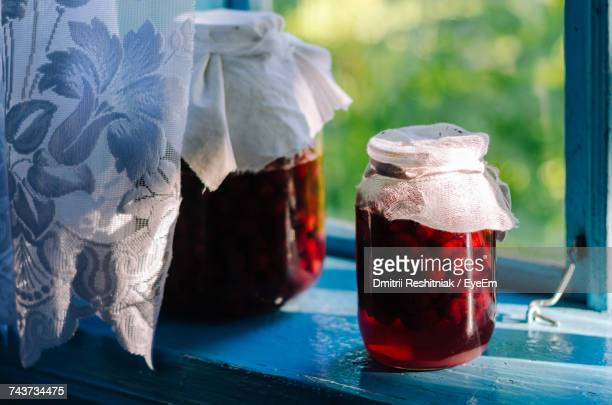 Close-Up Of Preserves