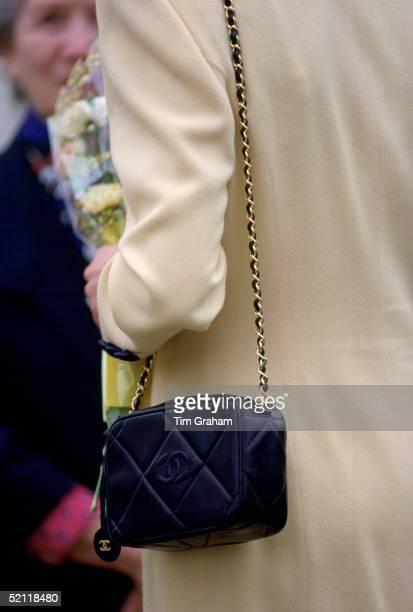 Closeup Of Princess Diana's Handbag Whilst Visiting Pinelodge Thames Valley Hospice Windsor