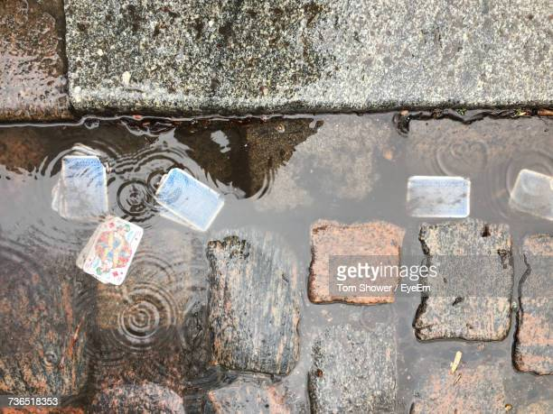 Close-Up Of Puddle
