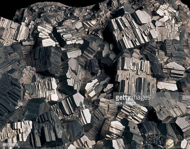 Closeup of pyrite
