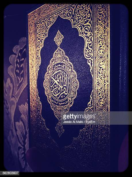 Close-Up Of Quran