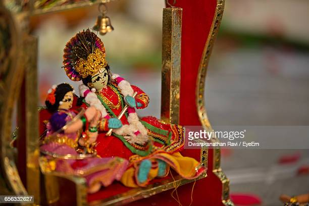 close-up of radha and krishna figurines - lord krishna stock photos and pictures