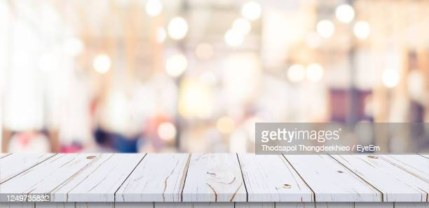 close-up of railing on table - focus on foreground stock pictures, royalty-free photos & images