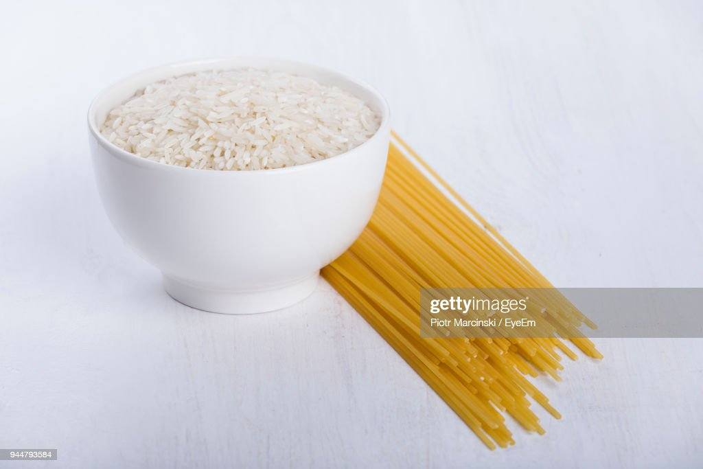 Close-Up Of Raw Food On Table : Stock Photo