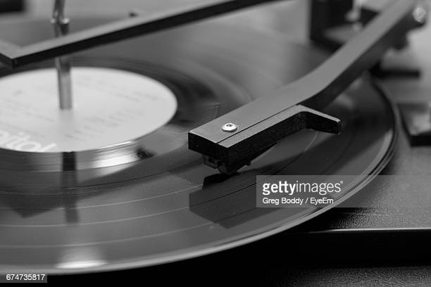 close-up of record - picture of phonograph stock photos and pictures