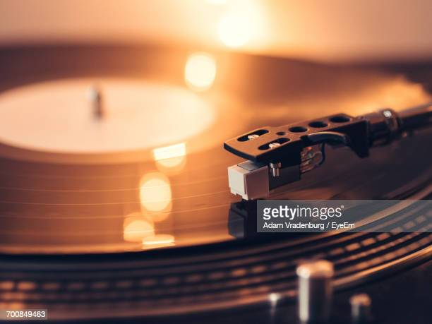 close-up of record player - deck stock pictures, royalty-free photos & images