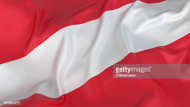 flagge-österreich - österreich stock-fotos und bilder