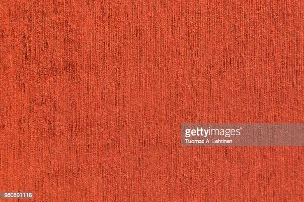 close-up of red furniture fabric texture background. full frame. - ウール ストックフォトと画像