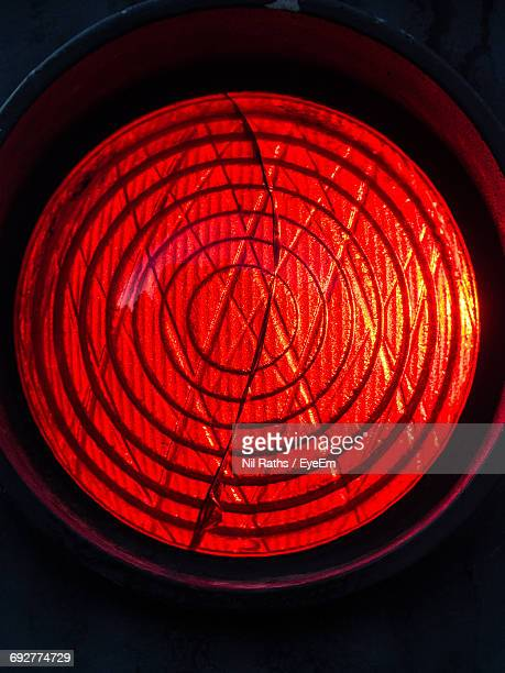 Close-Up Of Red Light