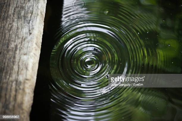 close-up of rippled water in lake - rippled stock pictures, royalty-free photos & images