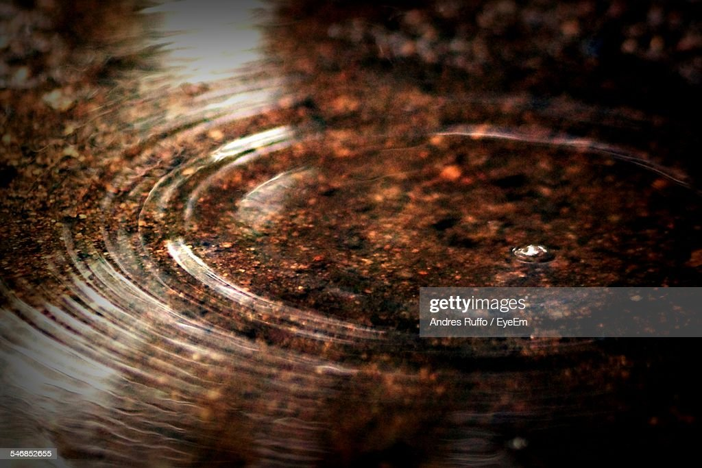 Close-Up Of Rippled Water : Stock-Foto