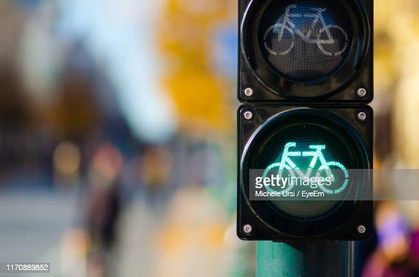close-up of road sign - road signal stock pictures, royalty-free photos & images