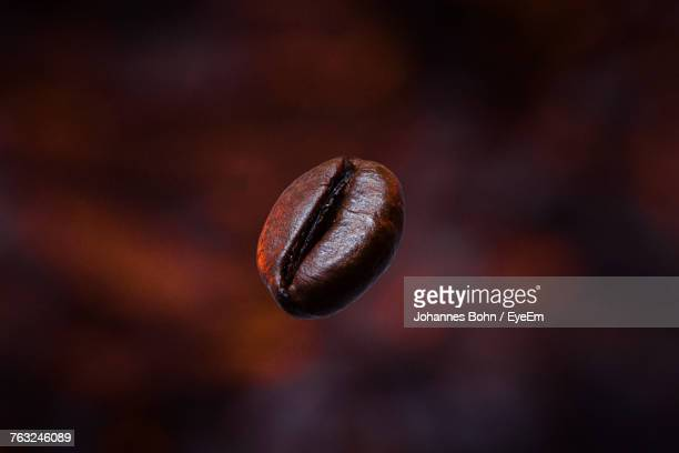 close-up of roasted coffee bean - coffee beans stock photos and pictures