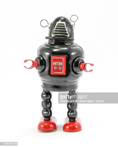 close-up of robot against white background - eyeem collection stock pictures, royalty-free photos & images