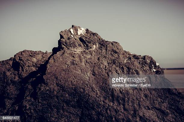 close-up of rock formations - albrecht schlotter foto e immagini stock