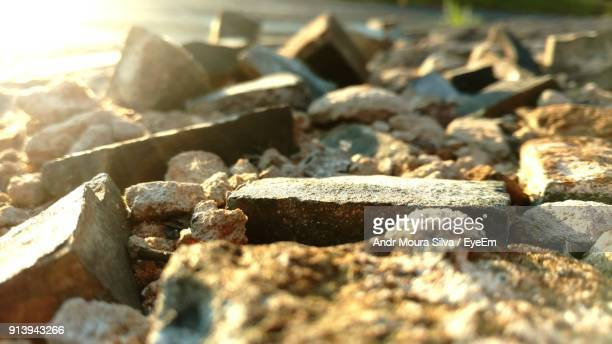 close-up of rocks - moura stock photos and pictures