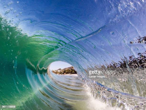 close-up of rolling surf on sea - laguna beach california stock pictures, royalty-free photos & images
