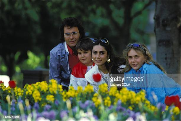Closeup of Romina Power In Paris France On May 02 1984