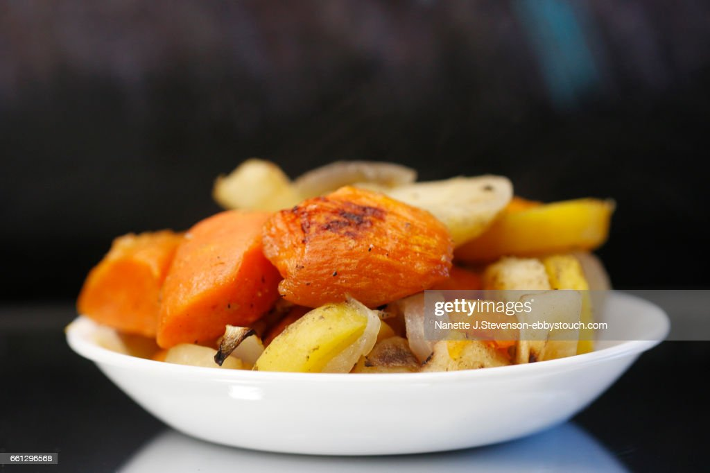 Closeup of root vegetables : Stock Photo