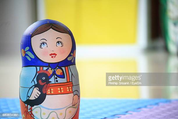 Close-Up Of Russian Nesting Doll