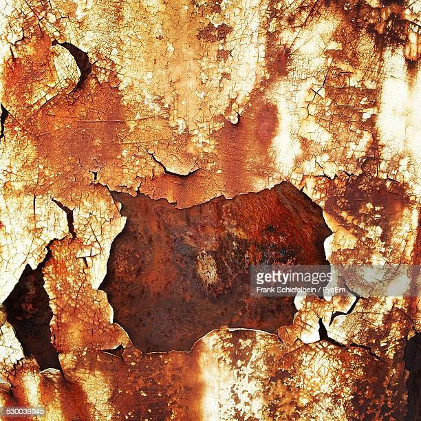 Close-Up Of Rusty Wall