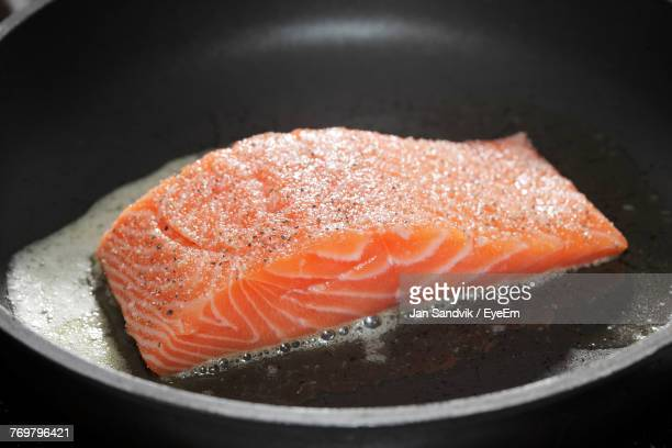 Close-Up Of Salmon