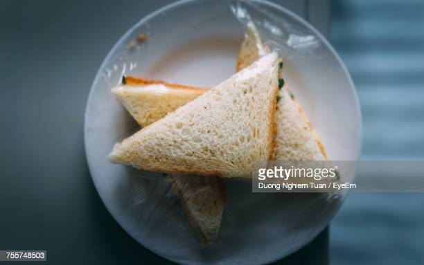 Close-Up Of Sandwiches