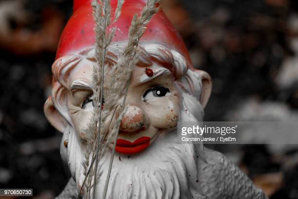 close-up of santa claus figurine - christmas beetle stock pictures, royalty-free photos & images