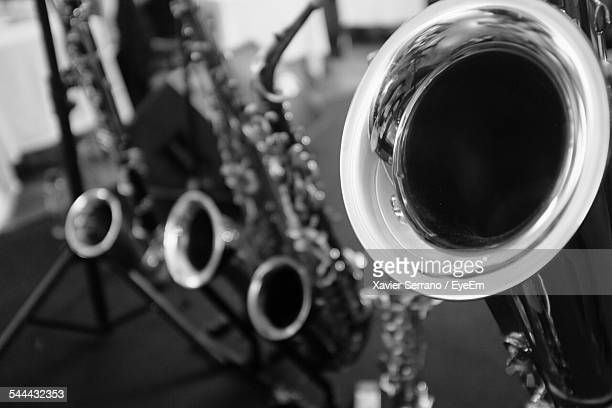 close-up of saxophone - jazz music photos stock pictures, royalty-free photos & images