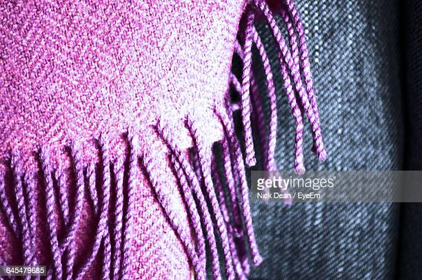 Close-Up Of Scarf
